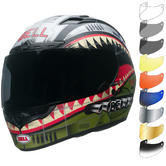 Bell Qualifier DLX MIPS Devil May Care Motorcycle Helmet & Visor