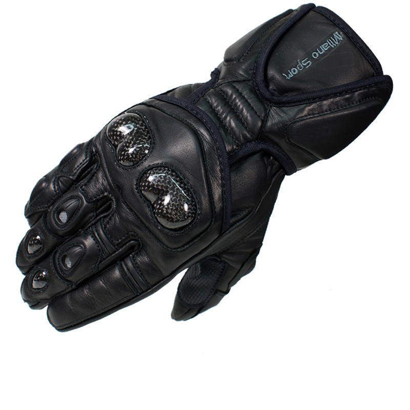 Sport Motorcycle Gloves: Milano Sport Assen Leather Motorcycle Gloves