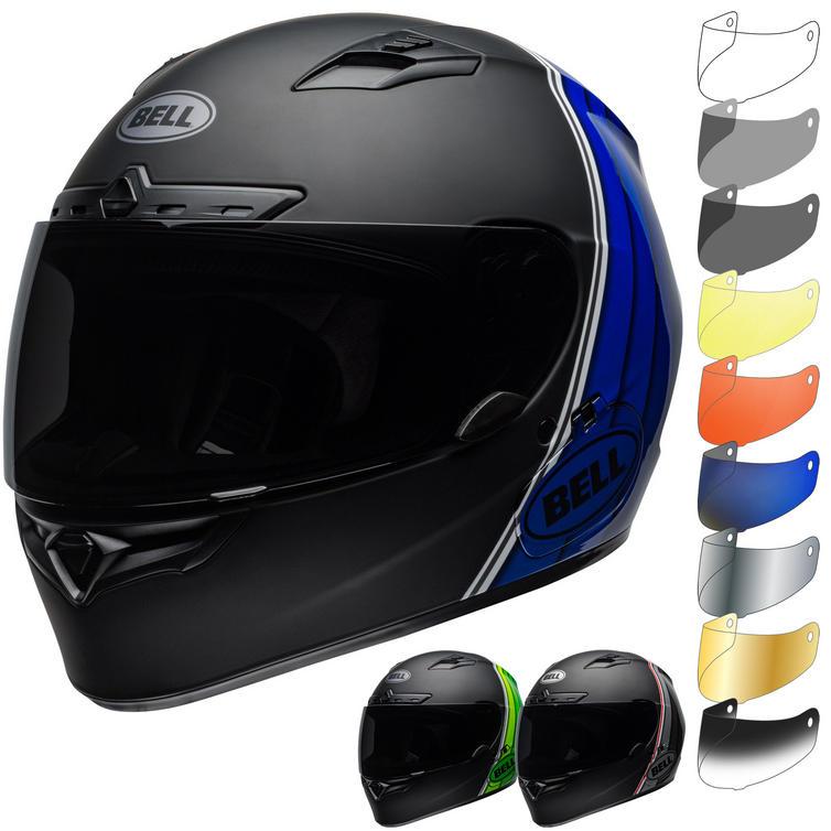 Bell Qualifier DLX MIPS Illusion Motorcycle Helmet & Visor