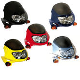 Bike It Raptor 2 Universal Motorcycle Headlight