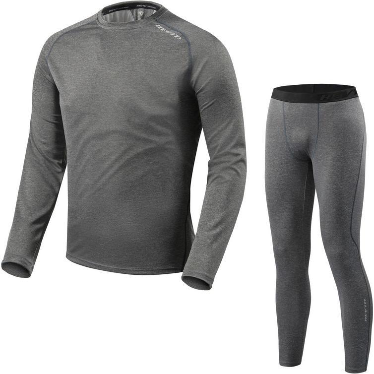 Rev It Sky LS Shirt & Pants Dark Grey Kit