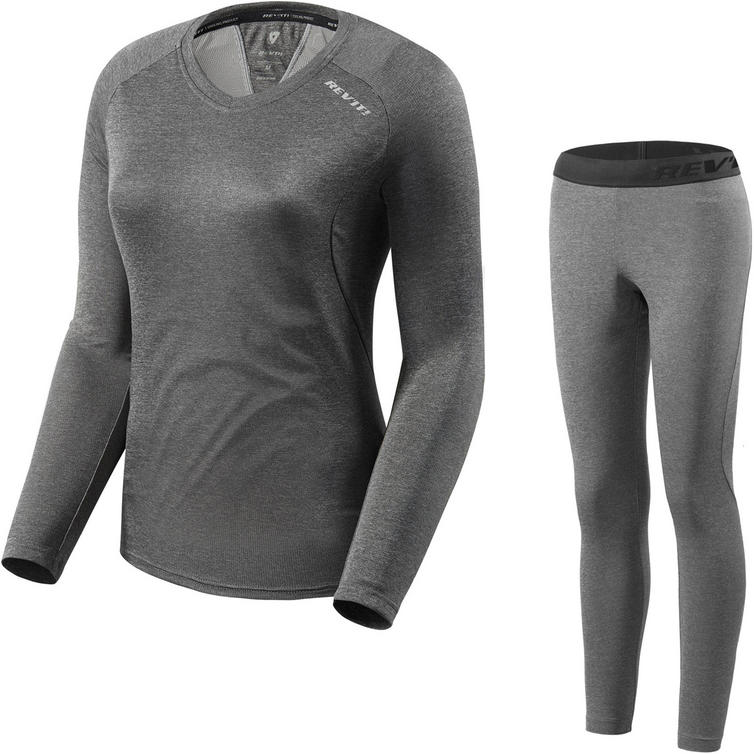Rev It Sky LS Ladies Shirt & Pants Dark Grey Kit