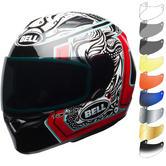 Bell Qualifier Tagger Splice Motorcycle Helmet & Visor