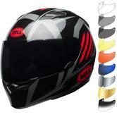 Bell Qualifier Blaze Motorcycle Helmet & Visor