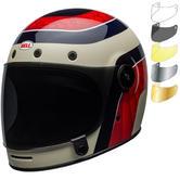 Bell Bullitt Carbon Hustle Motorcycle Helmet & Visor