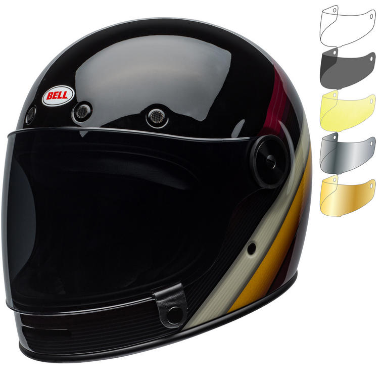 Bell Bullitt Burnout Motorcycle Helmet & Visor