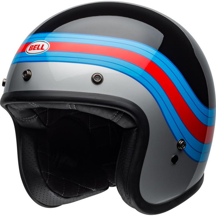 Bell Custom 500 Pulse Deluxe Open Face Motorcycle Helmet