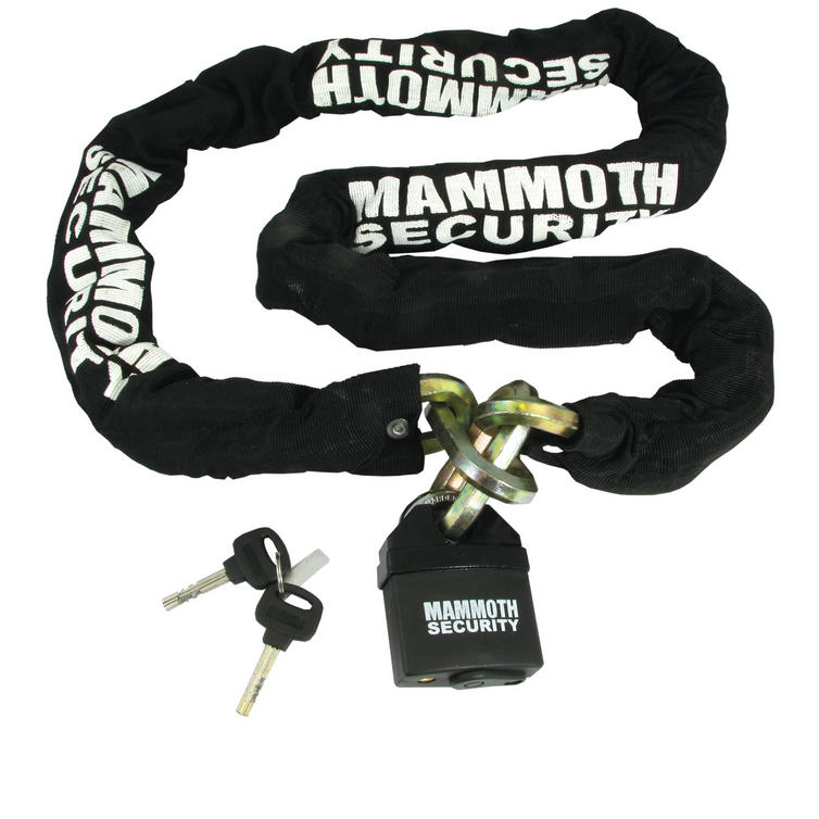 Bike It Mammoth Hexagon Chain and Lock 1.8m