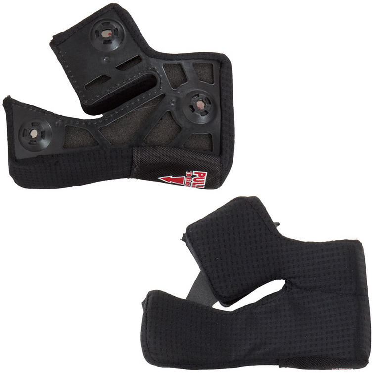 Bell Pro Star Race Star Virus Magnet Cheek Pads