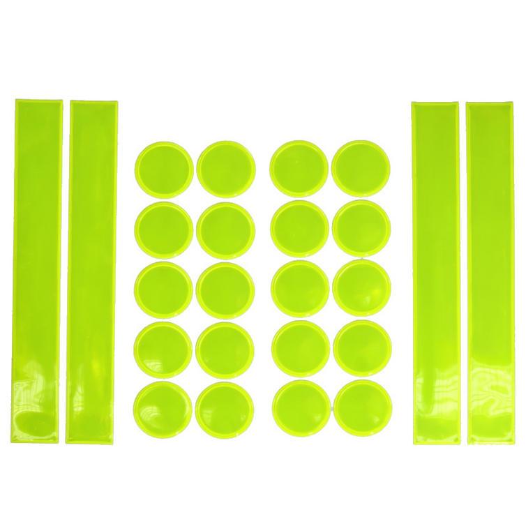 Bike It Stick Plate Reflector Sticker Set