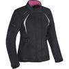 Oxford Dakota 2.0 Ladies Motorcycle Jacket & Trousers Black White Tech Pink Kit Thumbnail 4