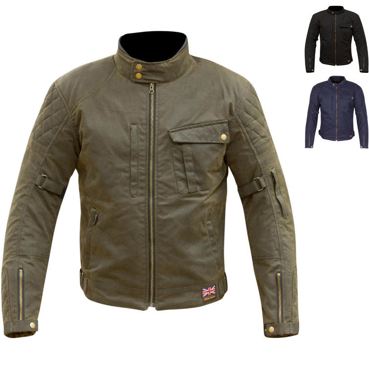 Merlin Elmhurst Outlast Wax Motorcycle Jacket