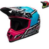Bell MX-9 MIPS Tagger Asymmetric Motocross Helmet