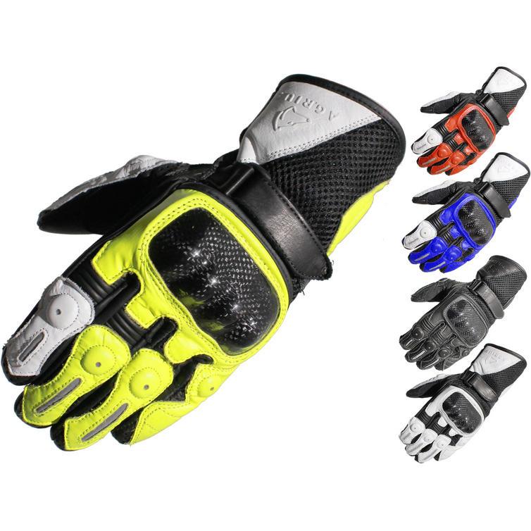 Agrius Ambush Short Leather Motorcycle Gloves
