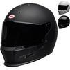 Bell Eliminator Solid Motorcycle Helmet Thumbnail 1