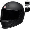 Bell Eliminator Solid Motorcycle Helmet Thumbnail 2