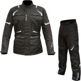 Merlin Neptune Motorcycle Jacket & Trousers Black Kit