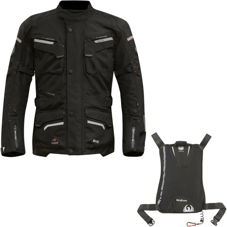 Merlin Lynx Outlast Airbag Ready Motorcycle Jacket (with Free Integrated Airbag)