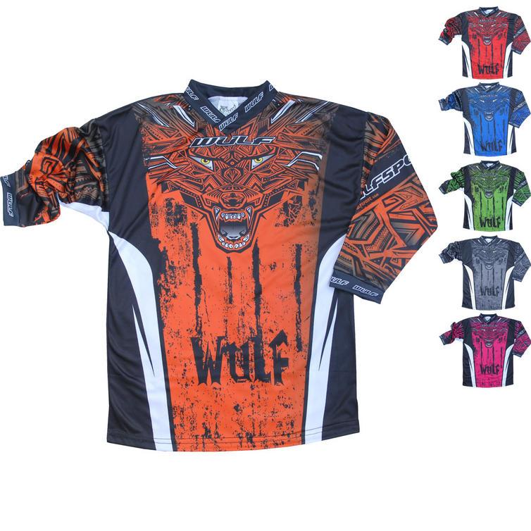 Wulf Aztec Cub Kids Motocross Jersey