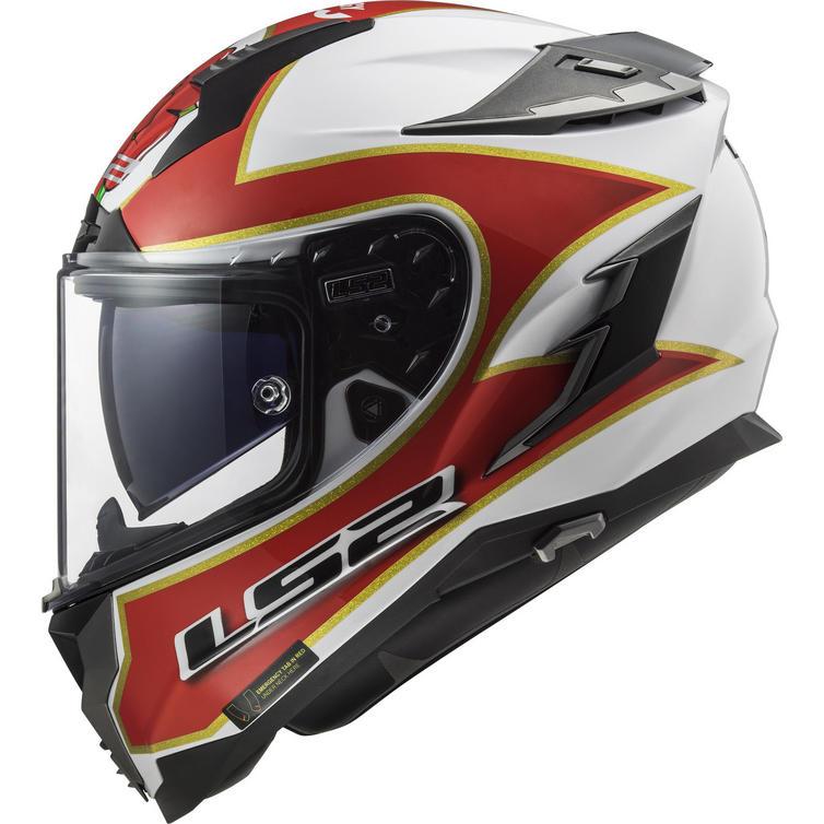 LS2 FF327 Challenger Foggy TT Motorcycle Helmet