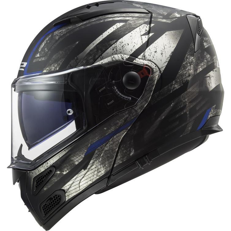 LS2 FF324 Metro Evo P-J Buzz Flip Front Motorcycle Helmet
