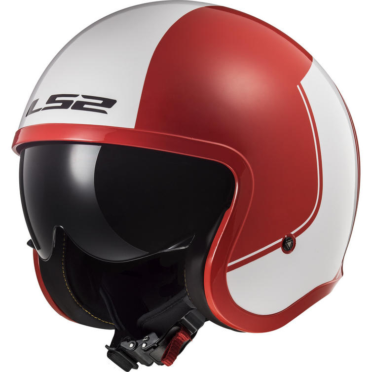 LS2 OF599 Spitfire Rim Open Face Motorcycle Helmet
