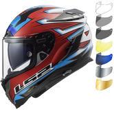 LS2 FF327 Challenger Foggy WSB Motorcycle Helmet & Visor