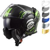 LS2 FF399 Valiant Nucleus Motorcycle Helmet & FREE Visor
