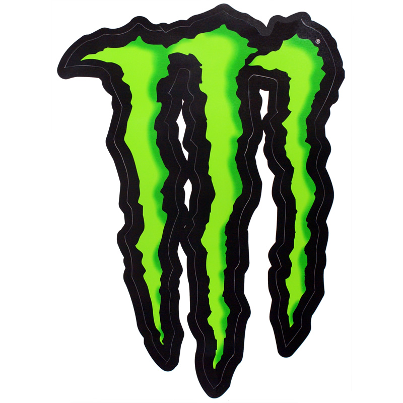 monster energy claw sticker clearance. Black Bedroom Furniture Sets. Home Design Ideas