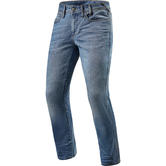 Rev It Brentwood SF Light Blue Used Motorcycle Jeans