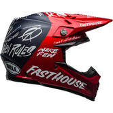 Bell Moto-9 Carbon Flex Fasthouse Day In The Dirt Limited Edition Motocross Helmet