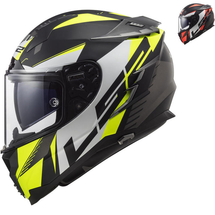 LS2 FF327 Challenger Squadron Motorcycle Helmet