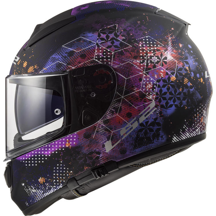LS2 FF397 Vector HPFC Evo Cosmos Motorcycle Helmet