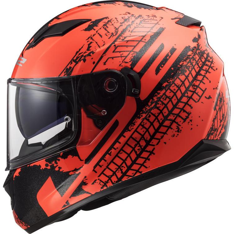 LS2 FF320 Stream Evo Lava Motorcycle Helmet
