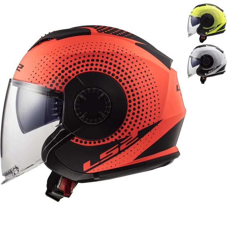 LS2 OF570 Verso Spin Open Face Motorcycle Helmet