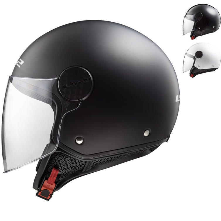 LS2 OF558 Sphere Solid Open Face Motorcycle Helmet