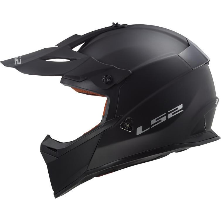 LS2 MX437 Fast Solid Motocross Helmet
