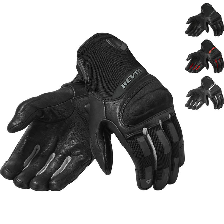 Rev It Striker 3 Leather Motorcycle Gloves