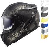 LS2 FF327 Challenger Flex Motorcycle Helmet & FREE Visor