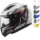 LS2 FF353 Rapid Boho Motorcycle Helmet & Visor