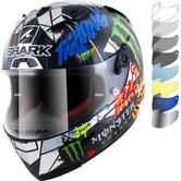 Shark Race-R Pro Carbon Lorenzo Catalunya GP Replica Motorcycle Helmet & Visor
