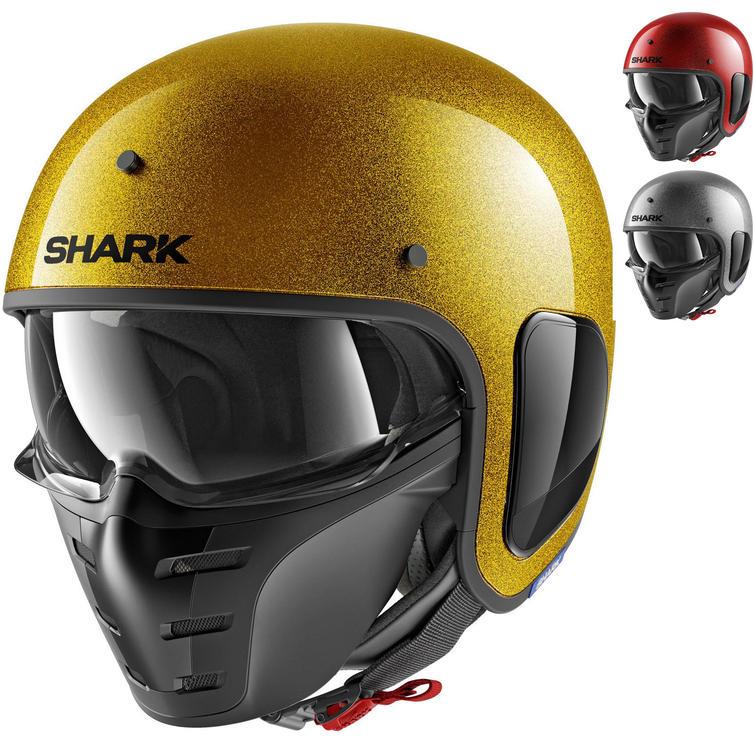 Shark S-Drak Glitter Open Face Motorcycle Helmet