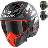 Shark Street-Drak Kanhji Open Face Motorcycle Helmet