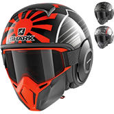 Shark Street-Drak Zarco Malaysian GP Open Face Motorcycle Helmet