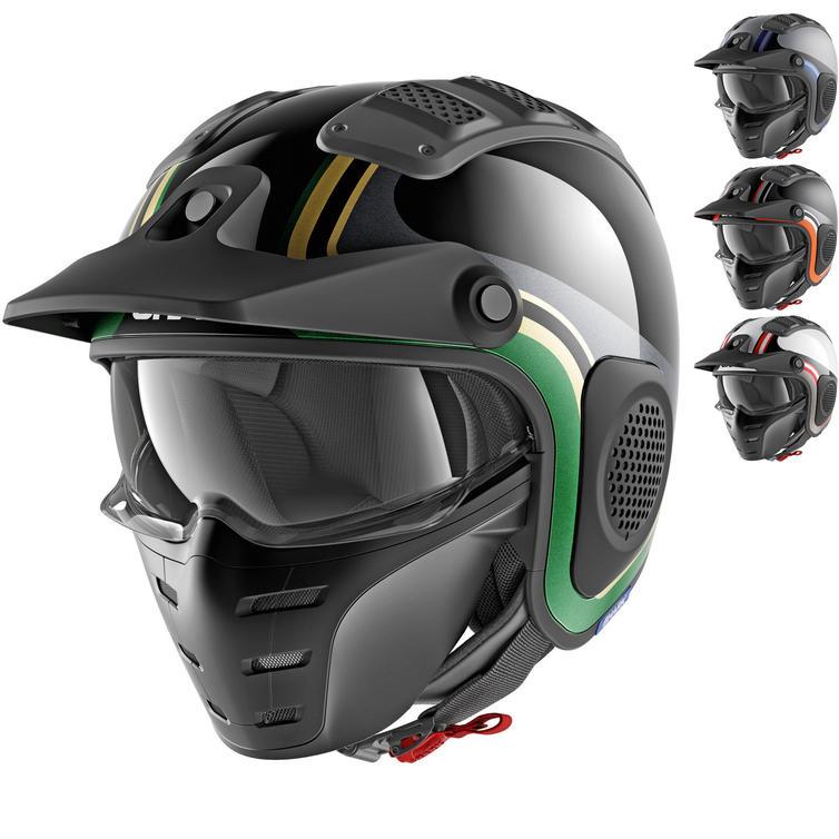 Shark X-Drak Hister Open Face Motorcycle Helmet