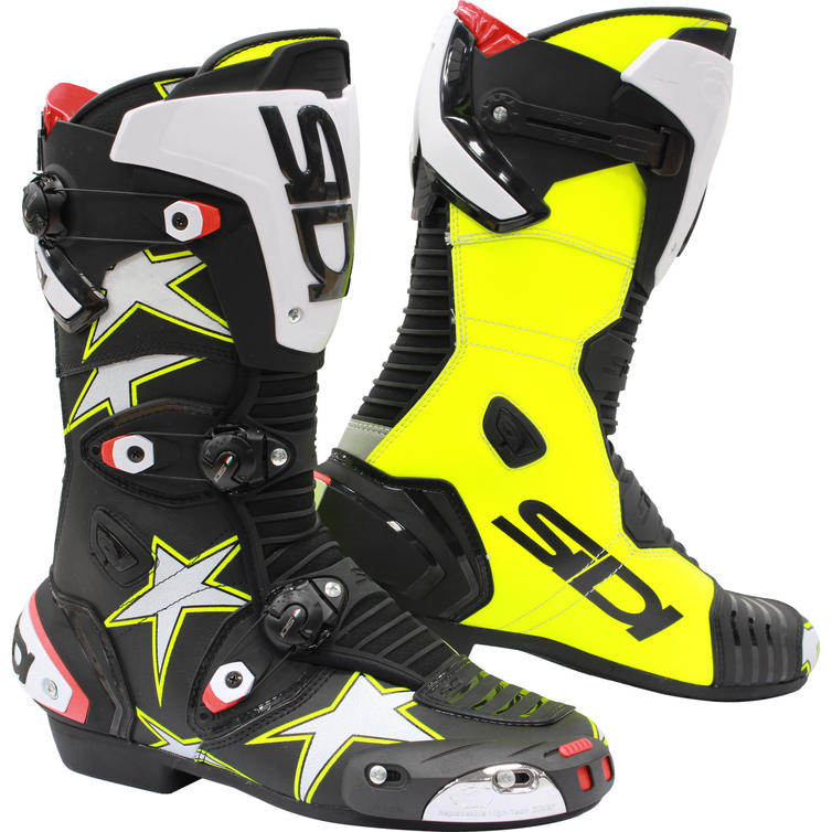 sidi mag 1 stars limited edition motorcycle boots new. Black Bedroom Furniture Sets. Home Design Ideas