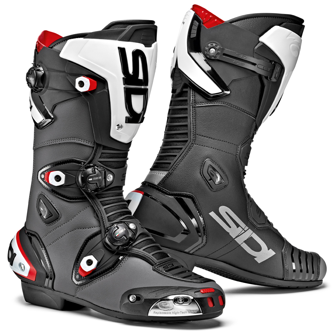 sidi mag 1 motorcycle boots sports motorbike race ce. Black Bedroom Furniture Sets. Home Design Ideas