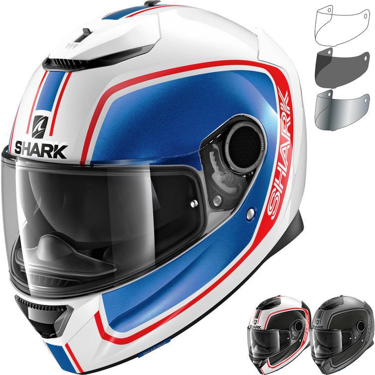 Shark Spartan Priona Motorcycle Helmet & Visor