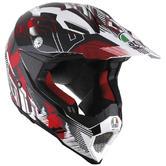 AGV AX-8 Evo Multi No Foot Motocross Helmet S White Red