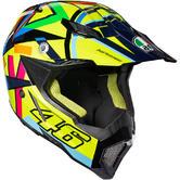 AGV AX-8 Evo E2205 Top SoleLuna 2016 Motocross Helmet XL Yellow